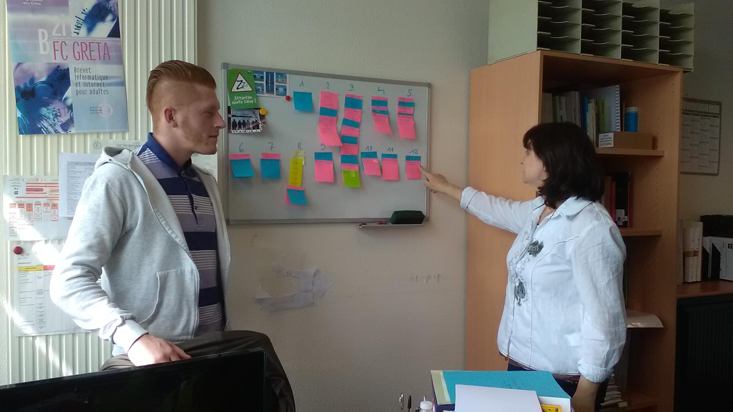 Atelier de design participatif au CAFOC Auvergne