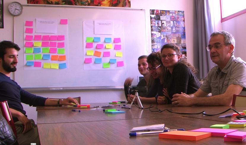 Atelier de design participatif au Greta de Clermont-Ferrand